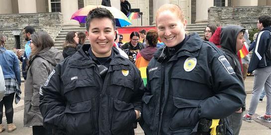 Sgt. Monica and Officer Michelle Beckenbaugh