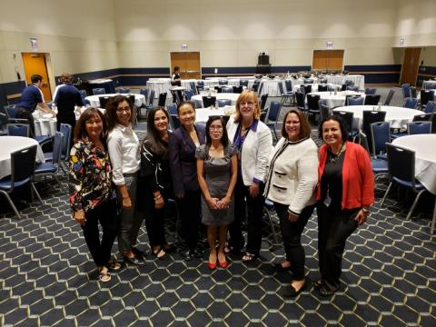 Hispanic Heritage Subcommittee members with Brynn Rousselin (second from right)